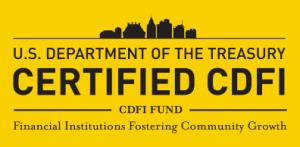 Certified CDFI CDFI Fund Logo
