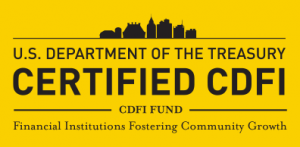 Certified CDFI CDFI Fund Logo