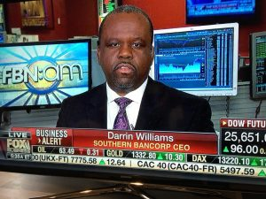 Darrin Williams, Southern Bancorp CEO