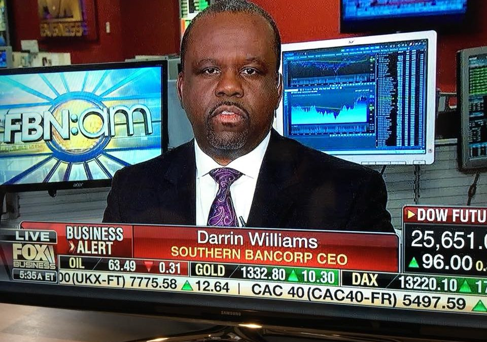 Fox Business News – FBN:am with special guest, Darrin Williams