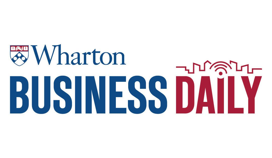 Darrin Williams appearance on SiriusXM's Wharton Business Daily Ch. 132, Friday, April 10th, 2020