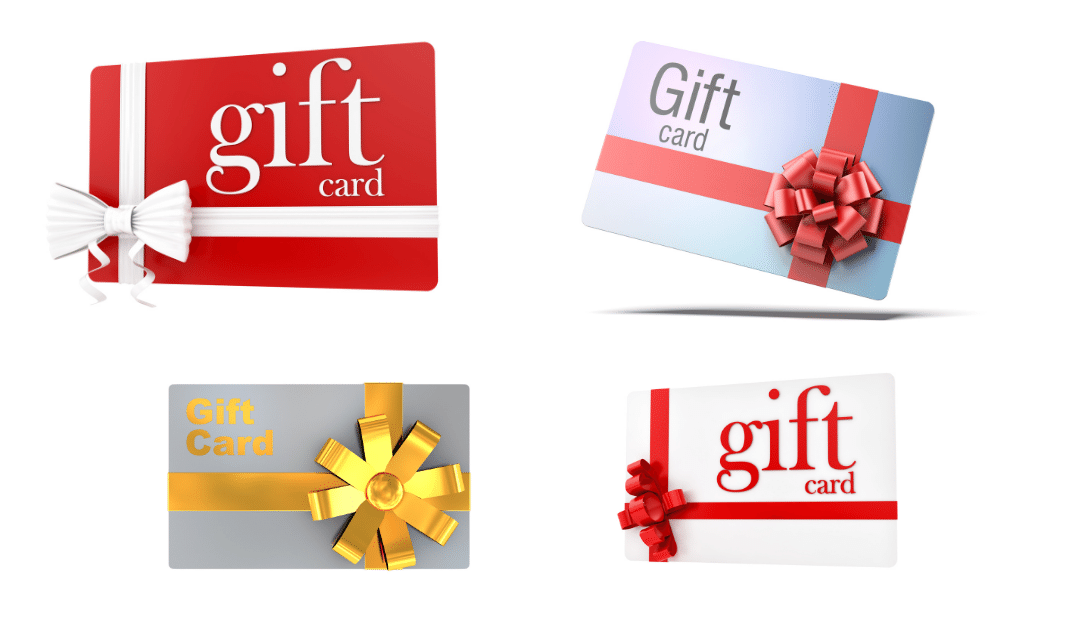 Beware of Gift Card Scams during the Holidays.